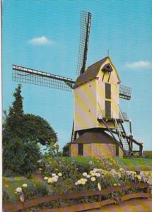 Netherlands Korenmolen Corn Mill Post Mill 1978