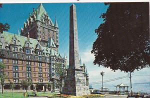 Chateau Frontenac , Quebec , Canada , 50-60s