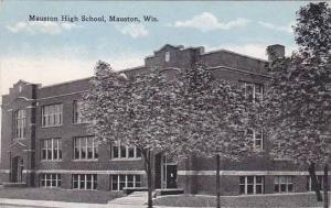 Wisconsin Mauston High School 1912