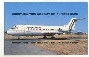 ac273 - Comair Citijet Fokker F28 Fellowship 4000 at Jan Smuts - postcard