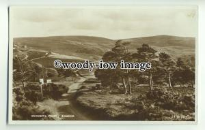 tp9939 - Devon - The Ancient Meeting Place, Webber's Post, on Exmoor - Postcard