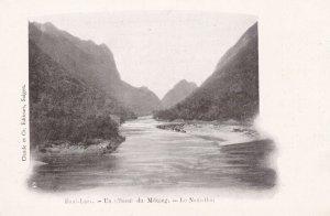 Haut-Laos- Un Affluent Du MEKONG, Le Nam-Hon, LAOS, 1900-1910s