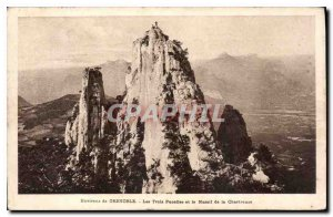 Postcard Old Surroundings of the Three Maidens Grenoble and Chartreuse
