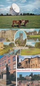 Jodrell Radio Bank Telescope Macclesfield 3x Postcard s