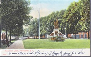 Pawtucket RI - lovely Wilkinson Park in the early 1900s!