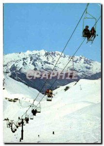 Modern Postcard Les Deux Alpes Isere