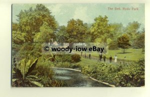 tp8552 - London - An Early View of the Dell, within Hyde Park - Postcard