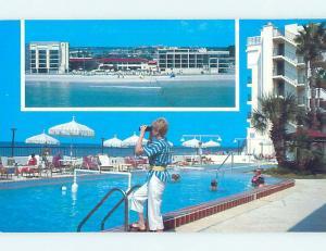 Unused Pre-1980 SHORELINE ISLAND RESORT MOTEL St. Petersburg Florida FL n7393