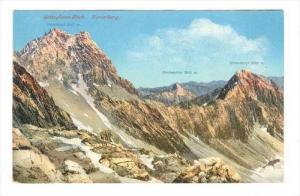 Scesaplana-Blick , Vorarlberg , Austria , PU-1924