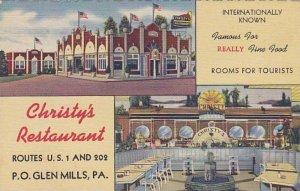 Pennsylvania Glen Mills Christy's Restaurant
