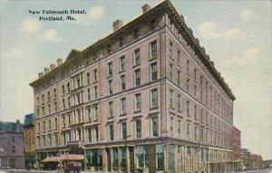 Maine Portland New Falmouth Hotel