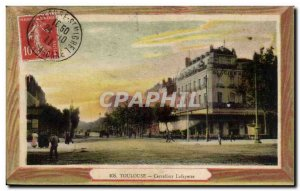 Toulouse - Carrefour Lafayette - Old Postcard