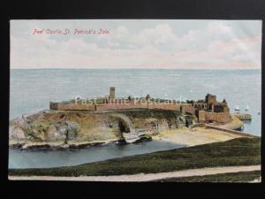 Isle of Man PEEL CASTLE St. Patricks Isle c1906 by The Manx Sun 0263