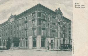 TOPEKA , Kansas, 1901-07; Throop Hotel