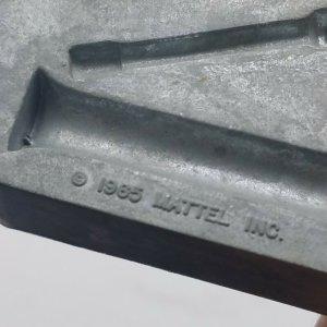 1965 Thingmaker Fighting Men Mold 4481-053-A Bazookas Missile Binoculars