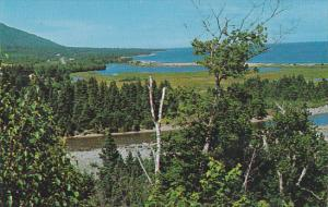Canada Indian Brook Looking North on Cabot Trail Cape Breton Nova Scotia