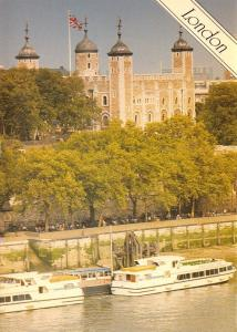 Postcard The Tower of London by Fincom Holdings Ltd (No.156) Large Format
