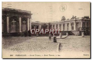 Old Postcard Palace Of Versailles Grand Trianon