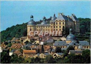 Modern Postcard Chateau de Hautefort Dordogne General view East