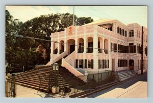 St Croix- Virgin Islands, Government House, Christiansted, Chrome c1968Postcard