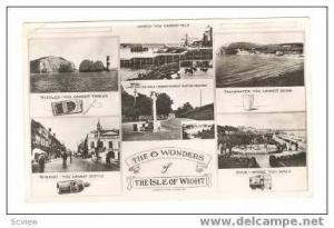 RP: 6-view, Isle of Wight, w/lighthouse, 20-40s