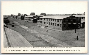 Chilicothe Ohio~WWI Camp Sherman~Army Cantonment~c1918 Postcard