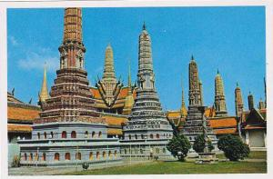 Thailand Bangkok The Pagodas Emerald Budda Temple