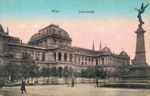 Austria Vienna Universität, Rathaus and more Postcard Lot of 6  01.17