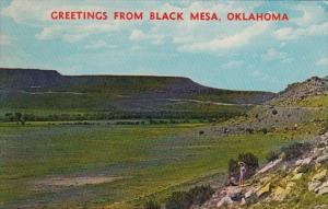 Oklahoma Greetings From Black Mesa
