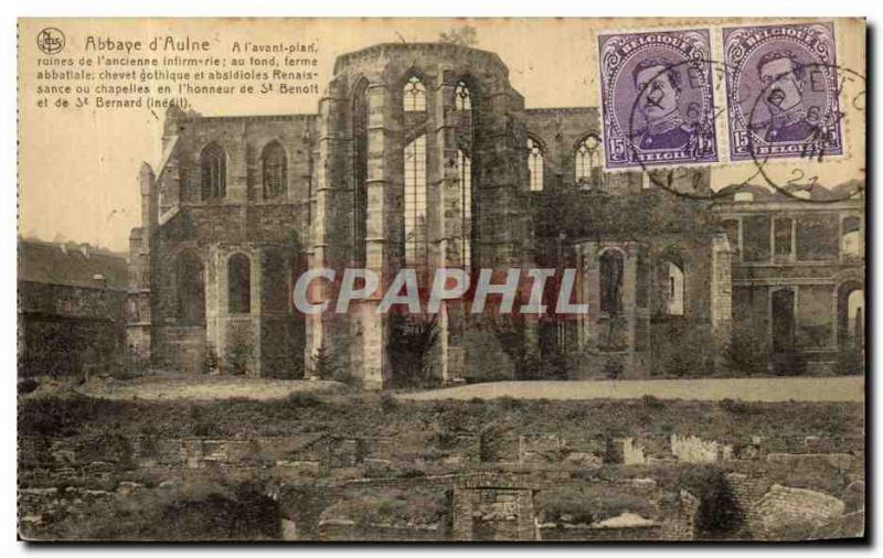 Postcard Abbey of Alder