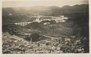 Naval Training Camp San Diego CA Calif. Aerial View Vintage Postcard E7