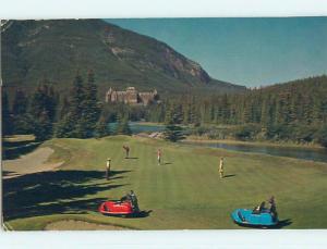 Pre-1980 TOWN VIEW SCENE Banff Alberta AB p9801