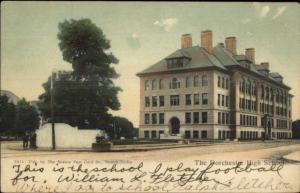 Dorchester MA High School c1910 Postcard