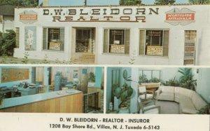 VILLAS , New Jersey, 1940-60s ; D.W.Bleidorn - Realtor