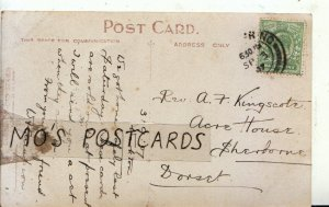 Genealogy Postcard - Rev Kingscote - Acre House - Sherborne - Dorset - Ref 9002A
