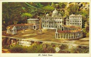 USA St. Peter's Rome Ave Maria Grotto St. Bernard Alabama Vintage Postcard 07.32