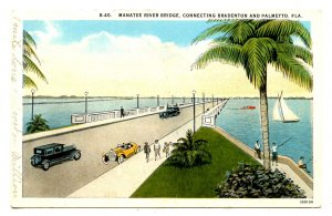 FL - Bradenton. Manatee River Bridge to Palmetto (aka Green Bridge)