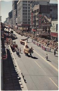 Seattle Seafair Parade, unused Postcard