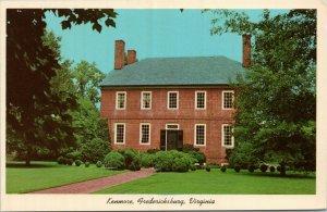Fredericksburg VA pc- Kenmore - home of Col. Fielding Lewis and Betty Washington