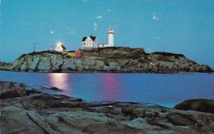 Maine York Cape Neddick Nubble Lighthouse