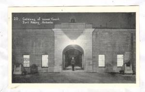 Gateway of inner court, Fort Henry, Ontario,Canada, 30-40s