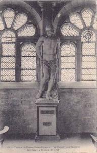 France Troyes Eglise Saint Nicolas Le Christ a la Colonne 1910