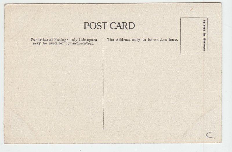 P1969 old postcard fairmilehead, edinburgh rural dirt road country card unused