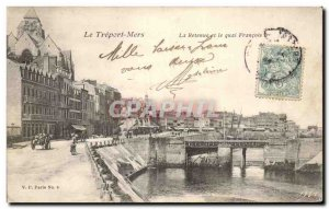 Treport - The Retainer and the Quai Francois I - Old Postcard