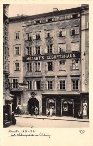 B72058 Mozart Wirkumgsstatte uim Salzburg Austria