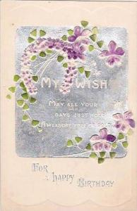 Happy Birthday Greetings Flowers