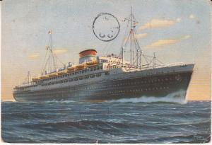 Neptunia - Italian Liner Sunk in WWII  Used