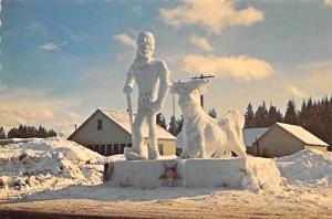 Paul Bunyan and Babe - McCall, Idaho