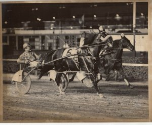 Harness Horse Racing Winner SNOW DENNIS , Second Division $7,500 Stake