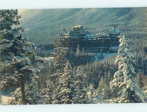 Unused Pre-1980 HOTEL SCENE Banff Alberta AB B0820